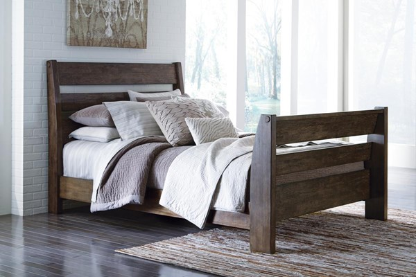 Emerfield Vintage Casual Two Tone Sleigh Beds B653-SBEDS-VAR