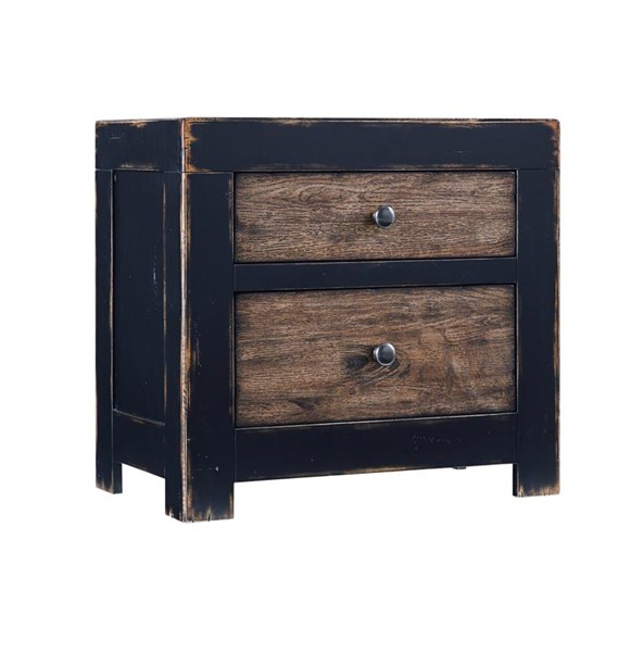Emerfield Vintage Casual Two tone Two Drawer Night Stand B653-92