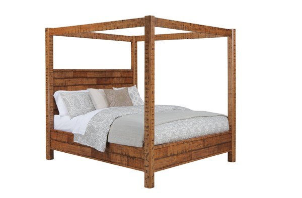 Ashley Furniture Wesling Queen Canopy Poster Bed