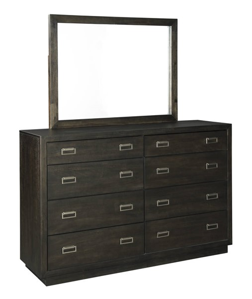 Ashley Furniture Hyndell Dresser And Mirror B731-DRMR