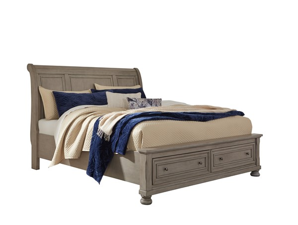 Ashley Furniture Lettner Queen Sleigh Storage Bed B733-QSSLBED