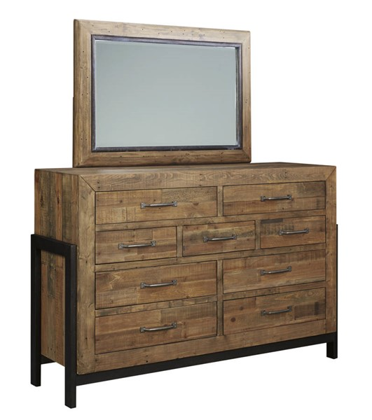 Ashley Furniture Sommerford Dresser and Mirror B775-DRMR