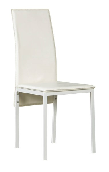 2 Ashley Furniture Sariden White Dining Room Side Chairs D170-02