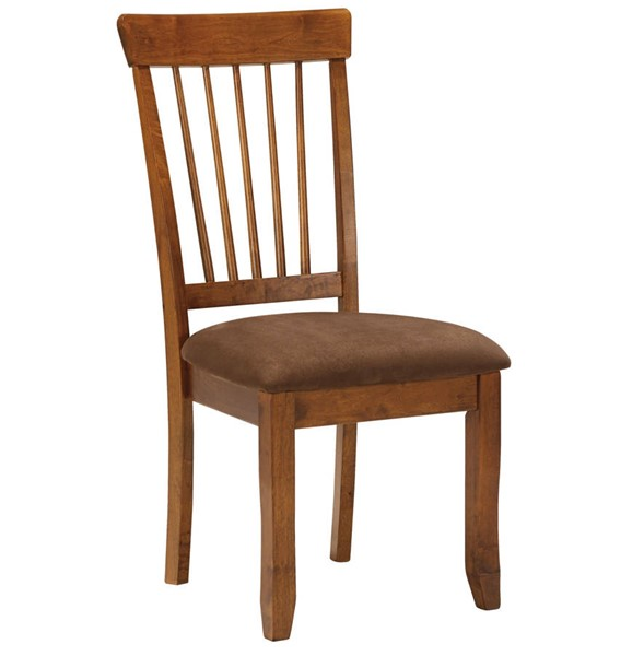 Ashley Furniture Berringer Rustic Brown Dining Upholstered Side Chair D199-01S