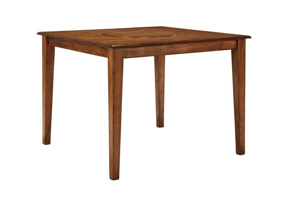 Berringer Vintage Casual Rustic Brown Square DRM Counter Table D199-13