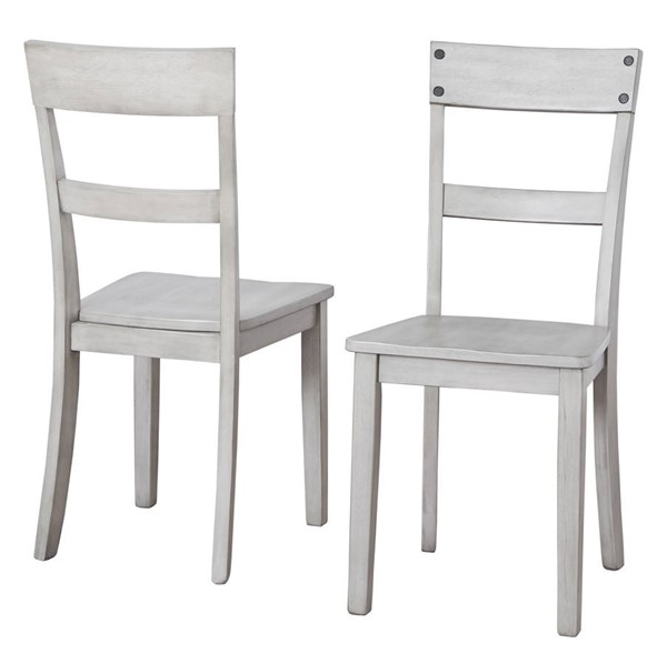 2 Ashley Furniture Loratti Gray Dining Side Chairs D261-01