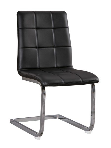 4 Ashley Furniture Madanere Black Dining Upholstered Side Chairs D275-01