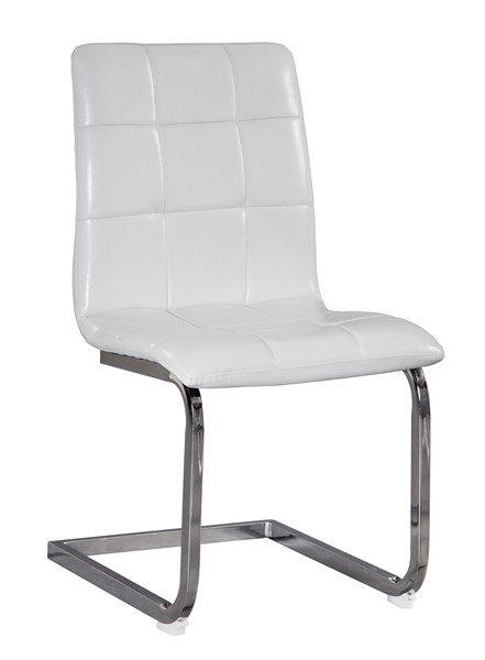 4 Ashley Furniture Madanere White Dining Upholstered Side Chairs D275-02