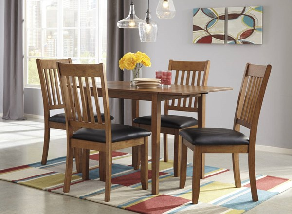 Joveen Contemporary Light Brown 5pc Dining Room Set D278-DR-S1