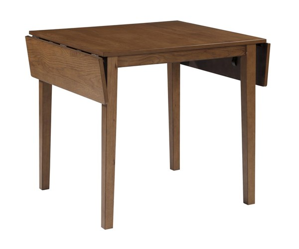 Joveen Contemporary Light Brown Dining Room Drop Leaf Table D278-15