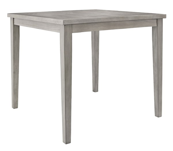 Ashley Furniture Parellen Gray Square Counter Height Table D291-13