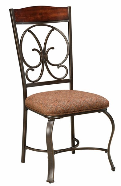 Ashley Furniture Glambrey Brown Upholstered Dining Side Chair D329-01S