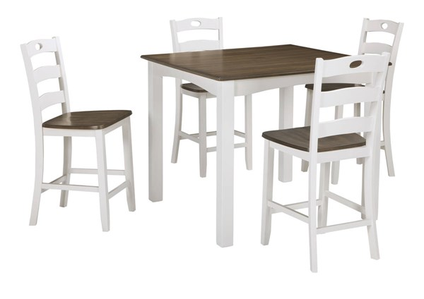 Ashley Furniture Woodanville 5pc Square Counter Table Set D335-223