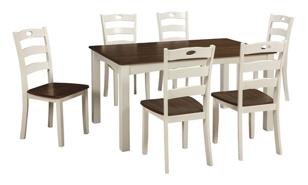Ashley Furniture Woodanville 7pc Dining Room Set D335-425