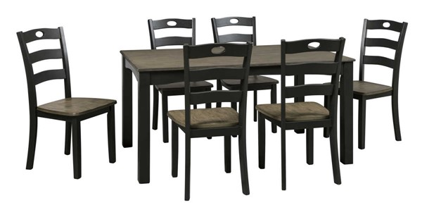 Ashley Furniture Froshburg 7pc Dining Room Set D338-425