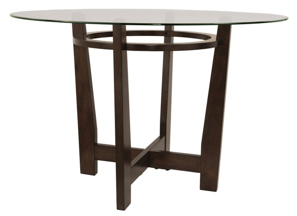 Ashley Furniture Charrell Glass Dining Room Table D357-15