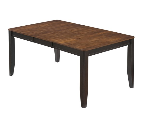 Alonzo Dining Room Butterfly Extension Table D367-35