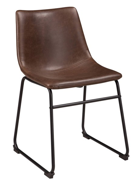 Ashley Furniture Centiar Brown Black Dining Upholstered Side Chair D372-01S