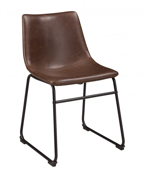 2 Ashley Furniture Centiar Brown Dining Side Chairs D372-01