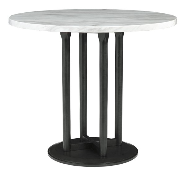 Ashley Furniture Centiar Two Tone Black Round Counter Height Table D372-23
