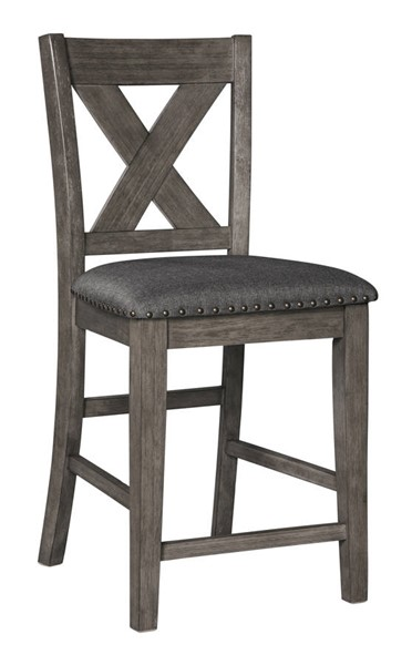 Ashley Furniture Caitbrook Gray Upholstered Barstool D388-124S