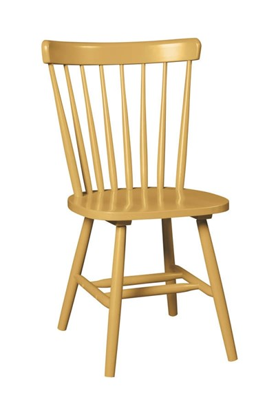 Bantilly Vintage Casual Gold Finish Dining Room Chair (2/CN) D389-04
