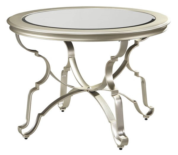Ashley Furniture Shollyn Silver Round Dining Room Table D390-15