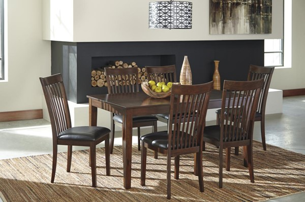 Ashley Furniture Mallenton 7pc Dining Room Set D411-425