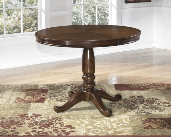 Leahlyn Medium Brown Wood Dining Room Table D436-15