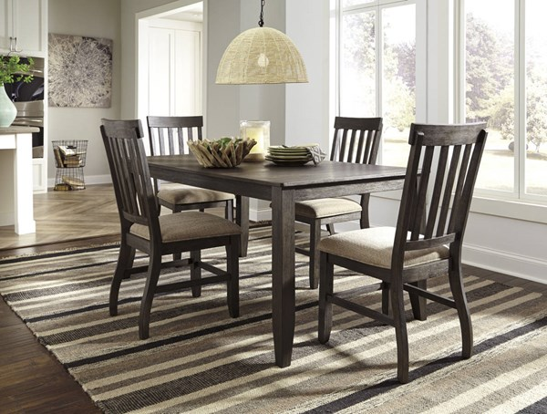 Dresbar Urbanology Grayish Brown 5pc Rectangle Dining Room Set D485-DR-RECT-S1