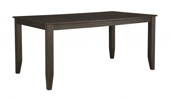 Dresbar Urbanology Grayish Brown Rectangular Dining Room Table D485-25