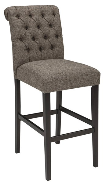 2 Ashley Furniture Tripton Brown Tall Upholstery Barstools D530-230