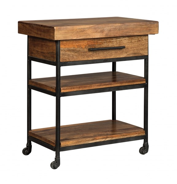 Ashley Furniture Discontinued: Ashley Furniture Glosco Serving Cart