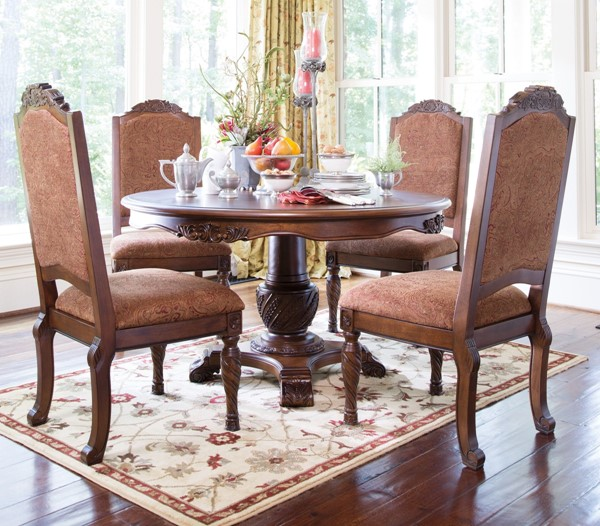 Ashley Furniture Discontinued: Ashley Furniture North Shore Round Pedestal Table