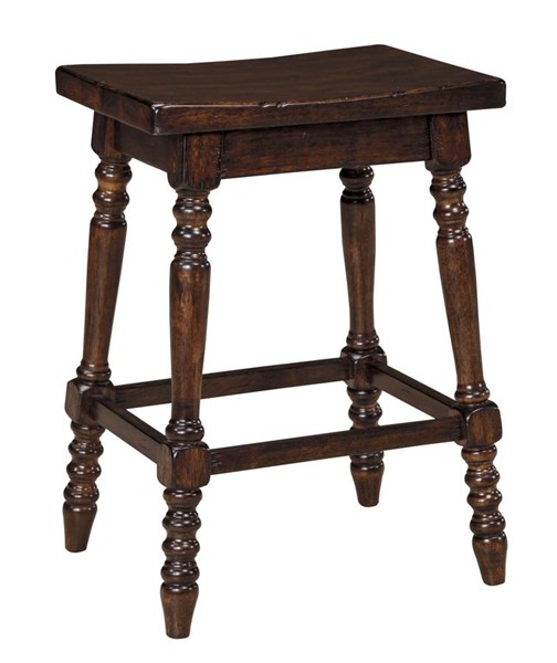 2 Moriann Vintage Casual Wood Foot Rest Stools D608-124