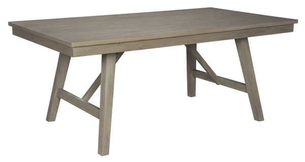 Ashley Furniture Aldwin Gray Rectangular Dining Table D617-45