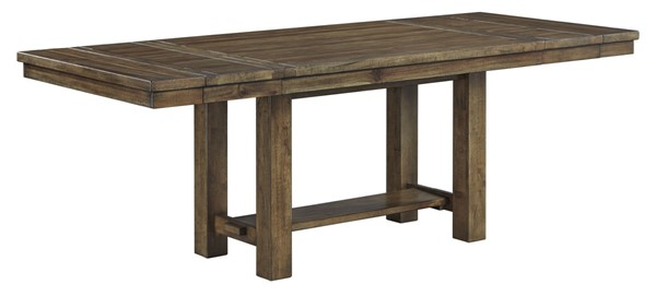 Ashley Furniture Moriville Grayish Brown Rectangle Dining Extension Table D631-45