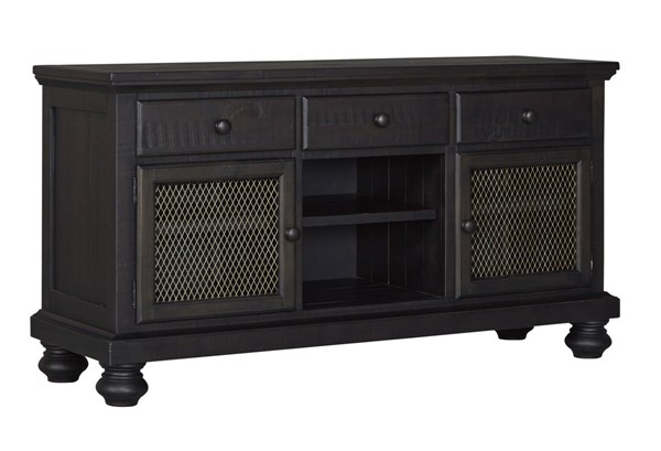 Sharlowe Casual Charcoal Wood Dining Room Buffet D635-60