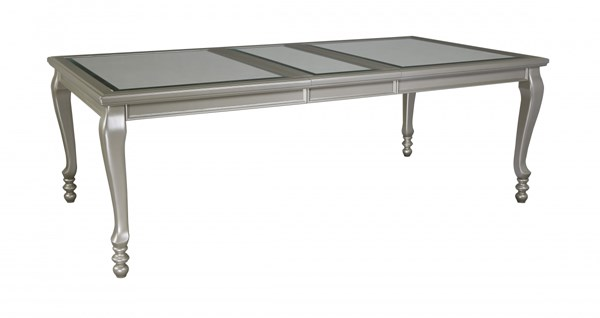 Ashley Furniture Coralayne Silver Rectangle Dining Extension Table D650-35