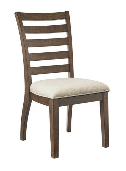 2 Ashley Furniture Flynnter Upholstered Dining Side Chairs D719-01