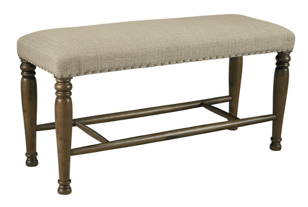 Ashley Furniture Lettner Extra Large Upholster Counter Height Bench D733-00