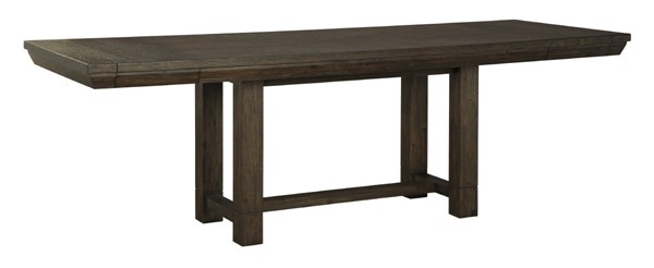 Ashley Furniture Dellbeck Brown Rectangle Dining Extension Table D748-45