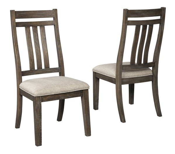 2 Ashley Furniture Wyndahl Brown Dining Side Chairs D813-01