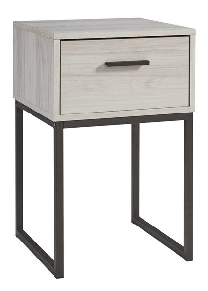 Ashley Furniture Socalle Natural One Drawer Night Stand EB1864-191