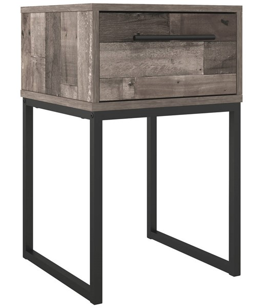 Ashley Furniture Neilsville Gray One Drawer Night Stand EB2120-191