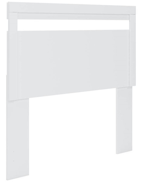 Ashley Furniture Flannia White Full Panel Headboard EB3477-156