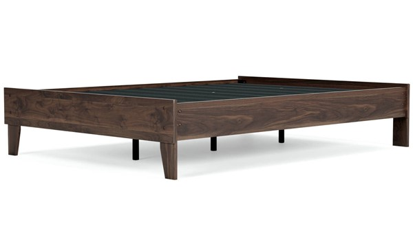 Ashley Furniture Calverson Mocha Full Platform Bed EB3660-112