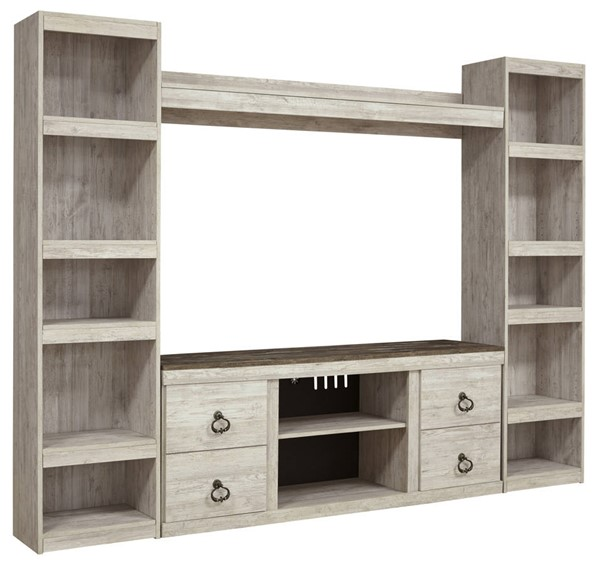 Ashley Furniture Willowton Whitewash Entertainment Centers EW0267-ENT-S-VAR