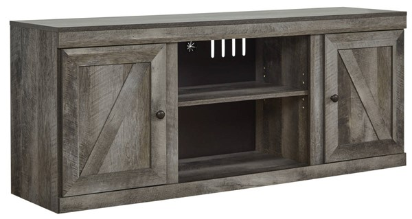 Ashley Furniture Wynnlow Gray LG TV Stand With Fireplace Option EW0440-168