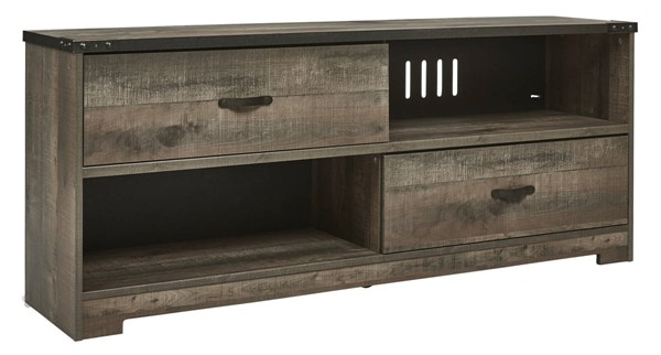 Ashley Furniture Trinell Brown Wood Large TV Stand EW0446-468